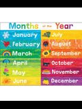 World of Eric Carle(tm) Months of the Year Chart
