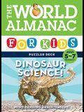 World Almanac for Kids Puzzler Deck: Dinosaur Science 5-7: Ages 5-7, Grades K-1