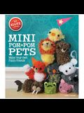 Mini POM-POM Pets: Make Your Own Fuzzy Friends