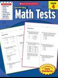 Math Tests, Grade 4