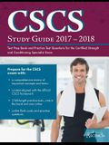 CSCS(R) Study Guide 2017-2018: Test Prep Book and Practice Test Questions for the Certified Strength and Conditioning Specialist(R) Exam