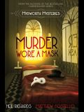 Murder Wore A Mask: Large Print Version