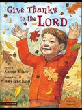 Give Thanks to the Lord: Celebrating Psalm 92