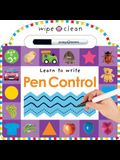 Wipe Clean: Pen Control [With Marker]