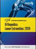 CPT Coding Essentials for Orthopaedics Lower 2019