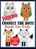 Jumbo Connect the Dots Book for Kids: Big Variety 175 Puzzles