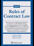 Rules of Contract Law: 2019-2020