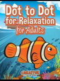 Dot to Dot for Relaxation for Adults