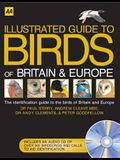 Illustrated Guide to the Birds of Britain and Europe: The Identification Guide to the Birds of Britain and Europe (Illustrated Reference Series)