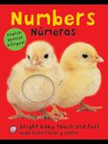 Bright Baby Bilingual Touch & Feel: Numbers: English-Spanish Bilingual