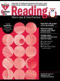 Common Core Reading: Warm-Ups and Test Practice Grade 4 Teacher Resource
