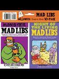 Mad libs halloween 10-pack