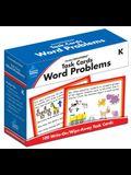 Task Cards: Word Problems, Grade K