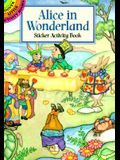 Alice in Wonderland Sticker Activity Book