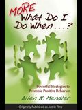 More What Do I Do When...?: Powerful Strategies to Promote Positive Behavior
