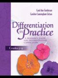 Differentiation in Practice: A Resource Guide for Differentiating Curriculum, Grades 5-9