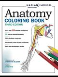 Anatomy Coloring Book [With Flash Cards]
