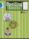 Spelling Skills: Grade 1 (Flash Kids Harcourt Family Learning)