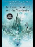 The Lion, the Witch and the Wardrobe, Large Print