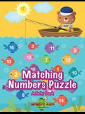 Matching Numbers Puzzle Activity Book