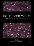 Consumer Value: A Framework for Analysis and Research