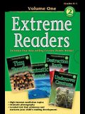 Extreme Readers Grades K-1, Volume 1: Tiny Terrors/Destruction Earth/Fantastic Planet/Undercover Creatures