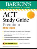 ACT Premium Study Guide: With 6 Practice Tests