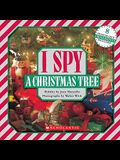 I Spy a Christmas Tree: A Book of Picture Riddles [With 8 Punch-Out Ornaments]