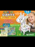 Color Me Giraffe: 3D Puzzle and Book [With Book(s)]