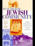 In Search of Jewish Community: Jewish Identities in Germany and Austria, 1918-1933