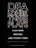 Dea Loher: Three Plays