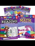 180 Days of Fifth Grade Practice, 5-Book Set