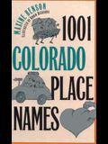 1001 Colorado Place Names