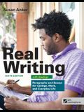 Loose-Leaf Version for Real Writing with Readings: Paragraphs and Essays for College, Work, and Everyday Life