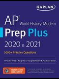 AP World History Modern Prep Plus 2020 & 2021: 5 Practice Tests + Study Plans + Review + Online