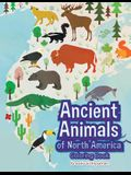 Ancient Animals of North America Coloring Book