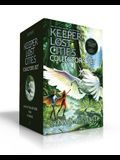 Keeper of the Lost Cities Collector's Set: Keeper of the Lost Cities; Exile; Everblaze/Includes a Sticker Sheet of Family Crests