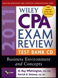 Wiley CPA Exam Review Test Bank CD: Business Environment and Concepts