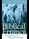 Biblical Errancy