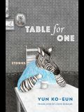 Table for One: Stories