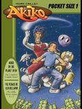 Akiko Pocket-Size 1: The Menace of Alia Rellapor; Issues 1-7