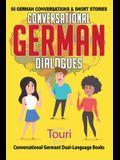 Conversational German Dialogues: 50 German Conversations and Short Stories