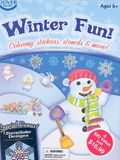 Winter Fun! [With Stickers and 6 Crayons and 6 Stencils and 3 Coloring Books]