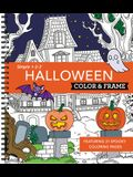 Color & Frame - Halloween (Coloring Book)