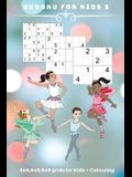 Sudoku for Kids 3: 4 x 4, 6 x 6, 9 x 9 grids for Kids + Colouring