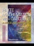 Finite Mathematics with Calculus: A Modeling Approach
