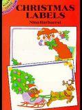 Christmas Labels: 8 Pressure-Sensitive Designs (Dover Little Activity Books)