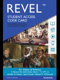 Revel for Visions of America: A History of the United States, Volume 1 -- Access Card