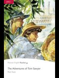 Level 1: The Adventures of Tom Sawyer Book & CD Pack [With CD (Audio)]