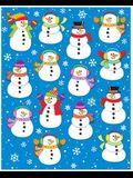 Snowmen Shape Stickers